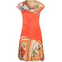 Versace Jeans Sukienka z dżerseju pomarańczowy 1VJ21C00D-B00