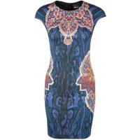 Just Cavalli Sukienka etui niebieski JU621C03A-K11