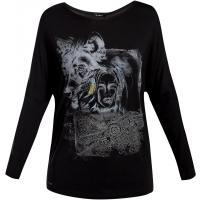Monnari T-shirt z wilkiem TSH3560