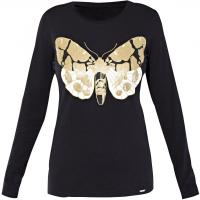 Monnari T-shirt z cekinowym motylem TSH3340