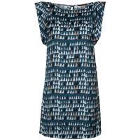 Sisley Sukienka letnia niebieski 7SI21C03D-K11
