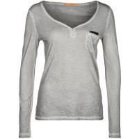 BOSS Orange VOKSANE Bluzka z długim rękawem szary BO121D048-C11