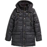 H&M Płaszcz z materiału z powłoką 28089-A