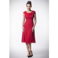 Sukienka Kartes-Moda KM87 czerwona