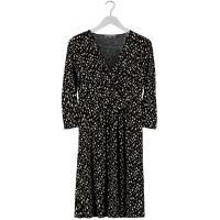 Anna Field Sukienka z dżerseju czarny AN621C0N4-Q11