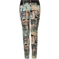 Versace Jeans Jeansy Slim fit kolorowy 1VJ21A00O-T11