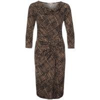 Anna Field Sukienka z dżerseju taupe / black AN621C0L3-B11
