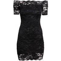 H&M Koronkowa sukienka 0295034001 Czarny