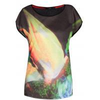 Monnari T-shirt z barwną grafiką TSH2390