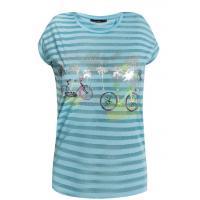 Monnari Pasiasty t-shirt z rowerami TSH1160