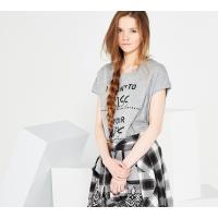 Reserved T-shirt YFL z nadrukiem LL452-09M