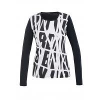 Monnari T-shirt black&white TSH5070