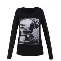 Monnari T-shirt z czarno-białym portretem TSH4230