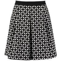 Anna Field Spódnica plisowana black/white AN621B039-Q11