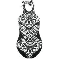 Seafolly KASBAH Kostium kąpielowy black/white S1941H03V-Q11