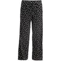 Even&Odd Spodnie materiałowe black/white EV421AA0A-Q12