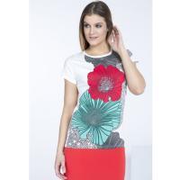 Monnari T-shirt z kwiatowym printem II TSH2950