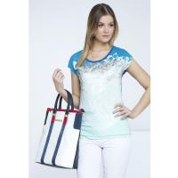 Monnari T-shirt z wodnym motywem TSH1720