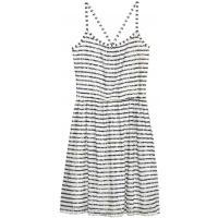H&M Koronkowa sukienka 0379720001 Ciemnoniebieski/Paski