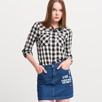 Reserved Koszula w kratę YFL PV389-99X