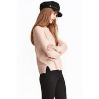 H&M Sweter 0404712012 Pudroworóżowy