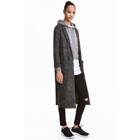H&M Long jacket 0368505002 Dark grey