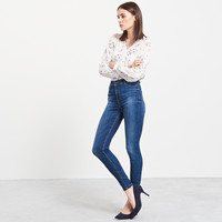 Reserved Jeansy z wysokim stanem PQ482-59J
