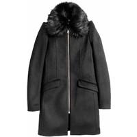 H&M Płaszcz 0427915001 Czarny