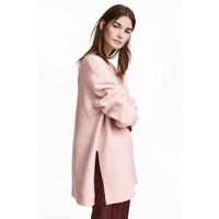 H&M Sweter 0390625009 Pudroworóżowy melanż
