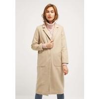 Topshop Płaszcz wełniany /Płaszcz klasyczny taupe/beige TP721H033