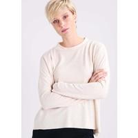 TOM TAILOR DENIM Sweter alabaster beige melange TO721I04L