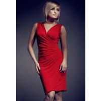 Figl Sukienka model 53 czerwona