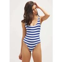 Solid & Striped THE ANNE-MARIE Kostium kąpielowy blue/cream QS681D002