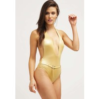 Calvin Klein Swimwear Kostium kąpielowy golden C1781D00O