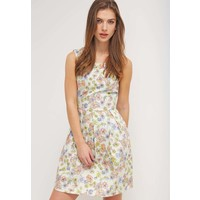 mint&berry Sukienka letnia beige M3221CA3W