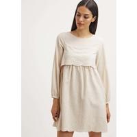 Intropia Sukienka letnia beige H3621C00R