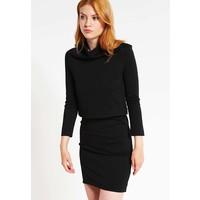 Calvin Klein Jeans DACIA MOCK Sukienka z dżerseju black C1821C016