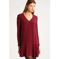 Sisley Sukienka letnia bordeaux 7SI21C061