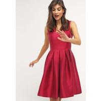 Sisley Sukienka koktajlowa berry 7SI21C05N