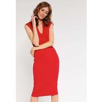 MICHAEL Michael Kors Sukienka z dżerseju red blaze MK121C05X