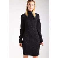 Versace Jeans Sukienka etui black 1VJ21C02Q