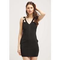Versace Jeans Sukienka z dżerseju black 1VJ21C01W