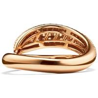 Tchibo Srebrny pierścionek, pozłacany, z cyrkonią* 400095741