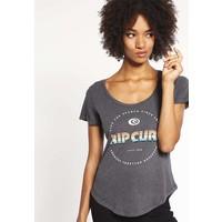 Rip Curl ACTIVE T-shirt z nadrukiem black marle RI721D034