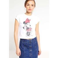 Miss Selfridge Petite T-shirt z nadrukiem white PY021D00F