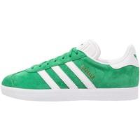 adidas Originals GAZELLE Tenisówki i Trampki green/white/gold metallic AD112B0H9
