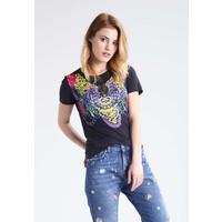 Versace Jeans T-shirt z nadrukiem nero 1VJ21D01U