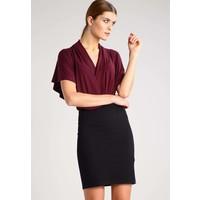 Anna Field Sukienka z dżerseju black/port royal AN621CAD6