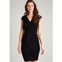 Anna Field Sukienka z dżerseju black AN621CAD2