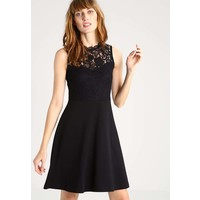 Anna Field Sukienka z dżerseju black AN621CAAN